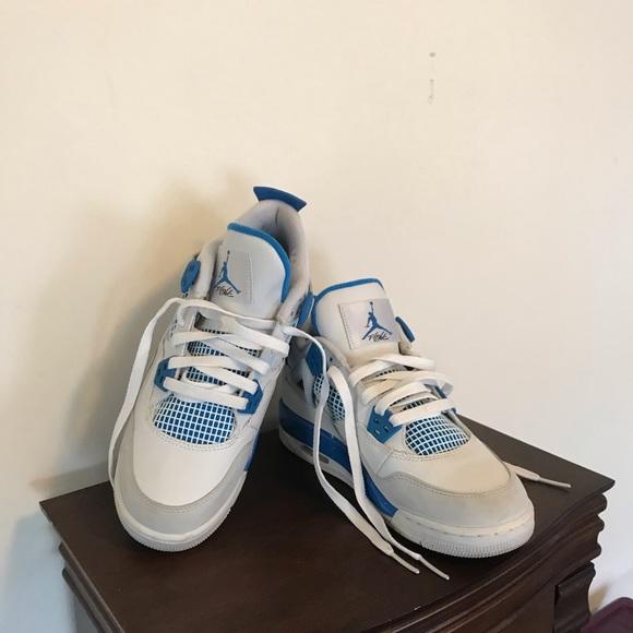 size 40 f9d0e 4ded3 Youth Jordan 4S retro military blue 2012